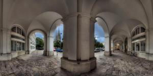 Arkaden nahe der Votivkirche Wien