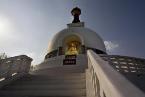 Stupa am Donauufer