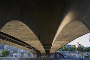 Unter der Schwedenbrücke