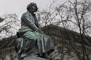 Beethoven-Statue am Heumarkt