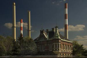 Teil des ehemaligen Gaswerks Simmering
