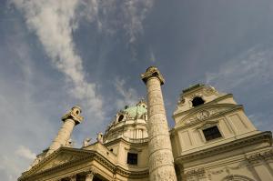 Detail der Karlskirche