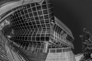 Bank-Gebäude am Jodok Fink-Platz